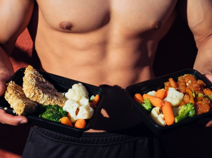 workout meal plan for men